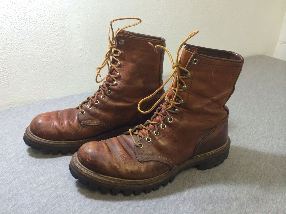 Red Wing Irish Setter Sport Boot Leather Vintage Usa
