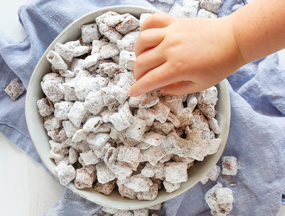 Puppy Chow i am baker I am baker, Apple and peanut