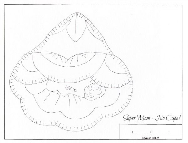 Second Sweet Face Potholder pattern from Workbasket