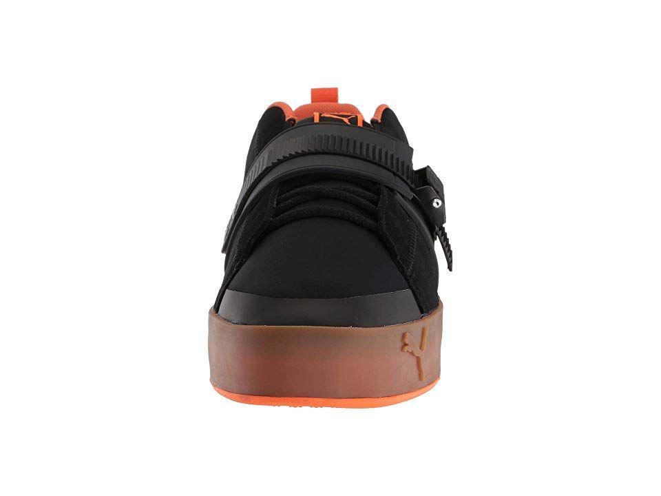 PUMA Puma x ANR Atelier New Regime Court Platform Brace Sneaker Shoes Puma  Black Scarlet Ibis 651134696