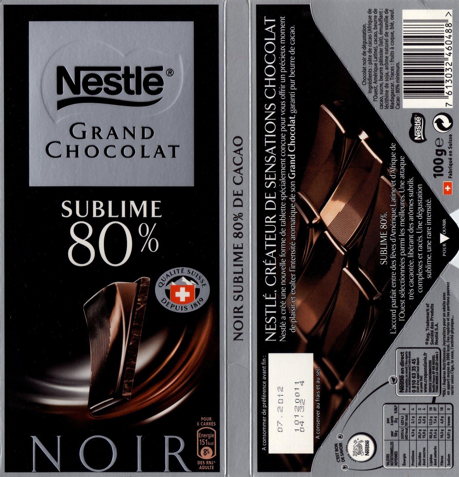 les bienfaits du chocolat noir 80. Black Bedroom Furniture Sets. Home Design Ideas