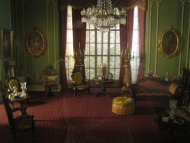 Miniature Victorian Drawing Room How Lovely Victorian