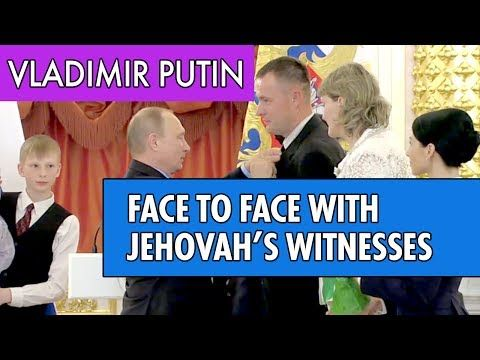 Angela Merkel and Vladimir Putin talk about Jehovah's Witnesses in Russia - YouTube
