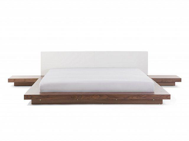 Bed bruin 180 x 200 cm ZEN (With images)