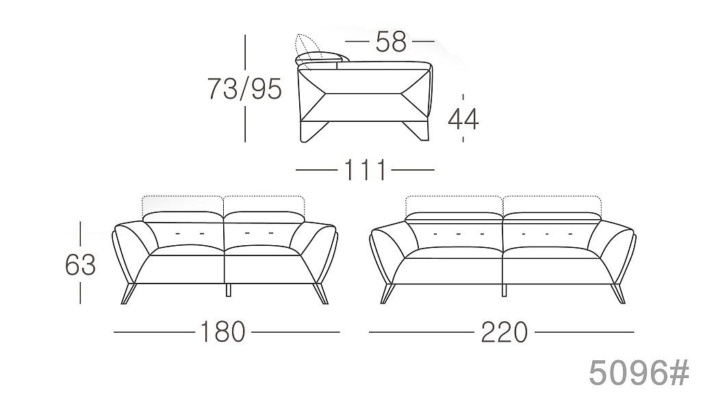 Italian leather sofa dimension (With images) | Leather ...