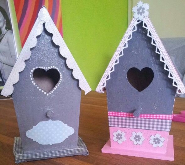 Mijn vogelhuisjes