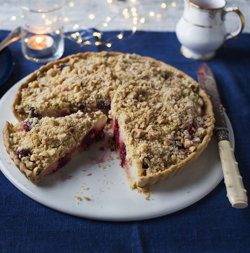 Winter Crumble Tart Recipe Recipe Easy Pie Recipes Mary Berry Recipe Delicious Desserts