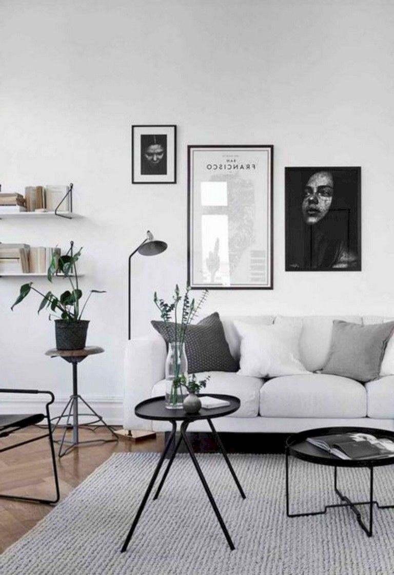 40 Fabulous Living Room Decor Ideas Living Room Scandinavian Modern Apartment Living Room Minimalist Living Room