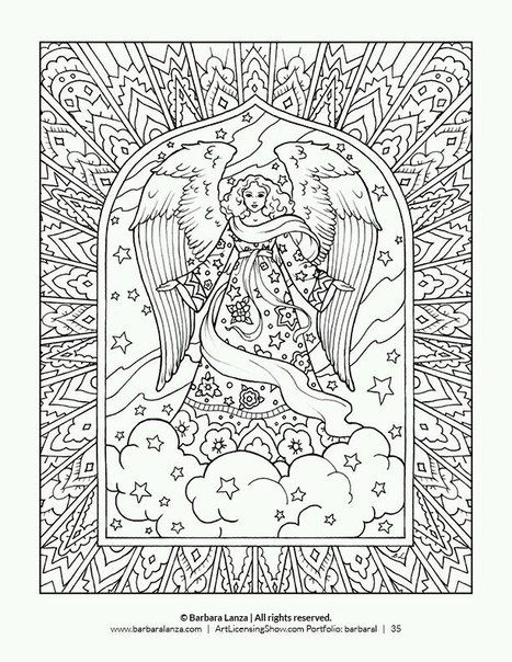 Rozhdestvo I Novyj God 402 Photos Vk Angel Coloring Pages Holiday Coloring Book Christmas Coloring Pages