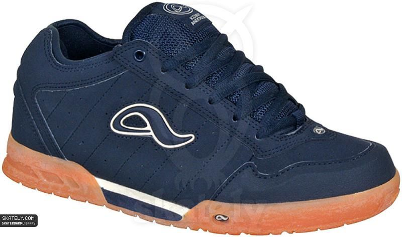 ba7f465a4a3e05 Adio Shoes - Kenny V1 - Navy Gum   Skately Library