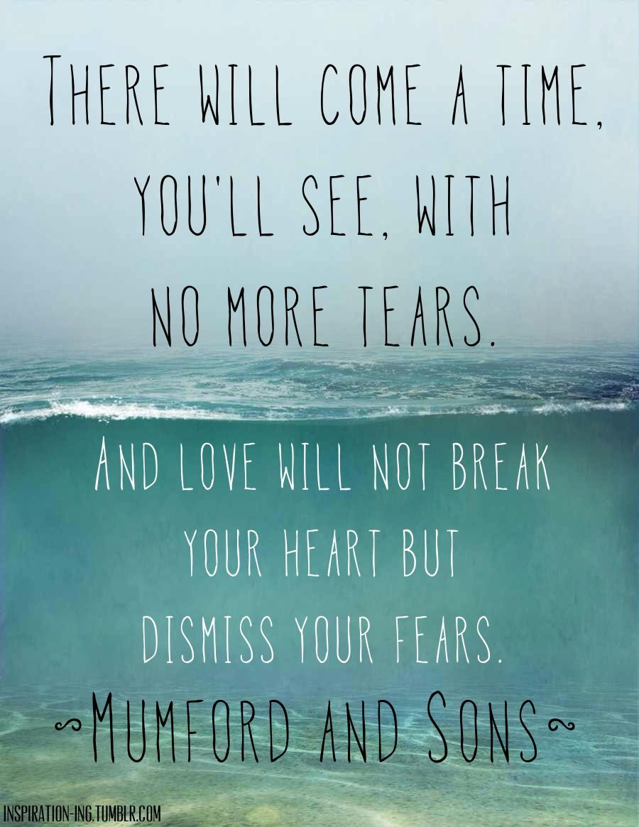 Famous Quotes Of Love Music Lyricsღ On  Mumford Sons And Flower