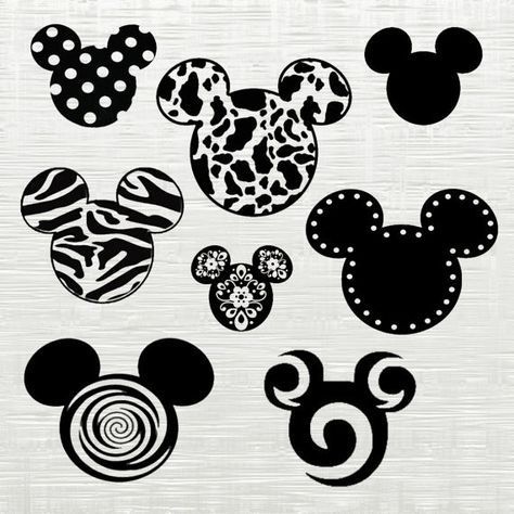 Mickey Mouse Svg Disney Cutfile Svg Svg Files For