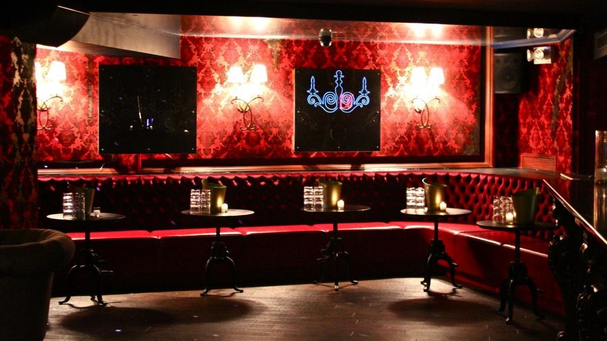 Interior , Gothic Interior Decorating For Classy And Catchy House Design :  Black And Red Color · Red Color SchemesRed BarGothic InteriorNightclubHome  ...