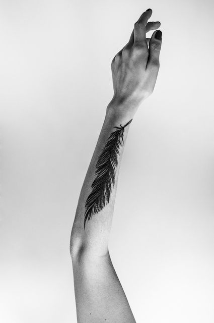 #tatto #feather