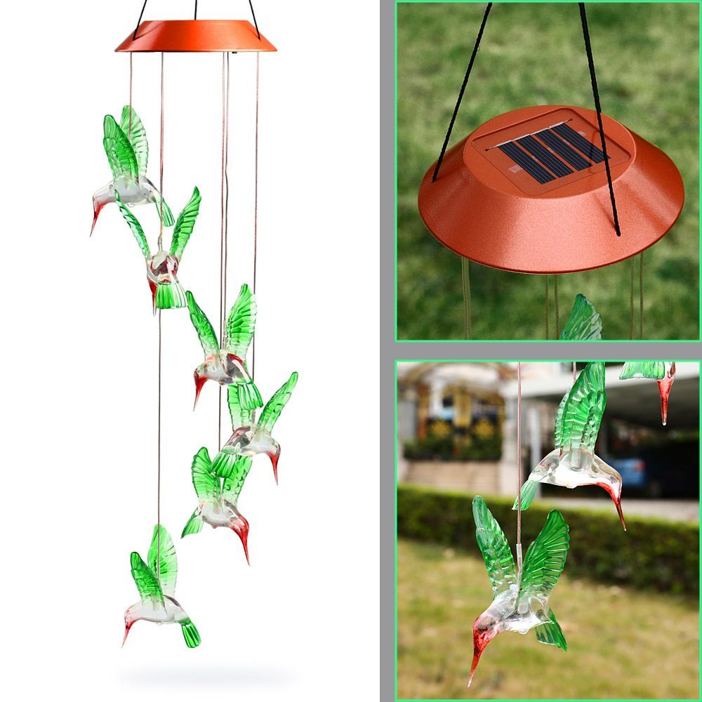 Free Shipping] Buy Best Hot Fashion Outdoor Hummingbird Wind Chimes ...