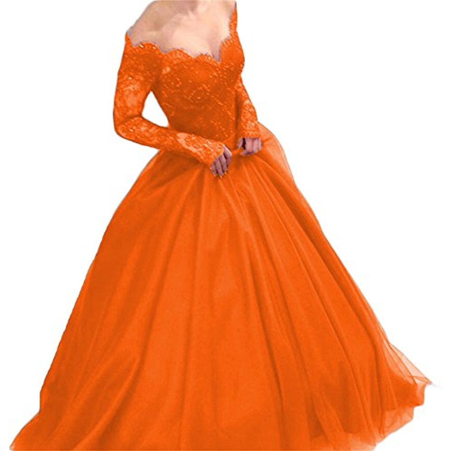Womenus v neck long evening formal dresses with sleeves prom ball