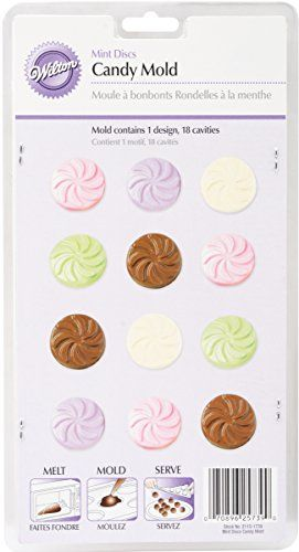 Candy Moldwedding Mint 18 Cavities Click On The Image For Additional Details This Is An Affiliate Link Cand Mint Molds Mint Candy Candy Making Supplies