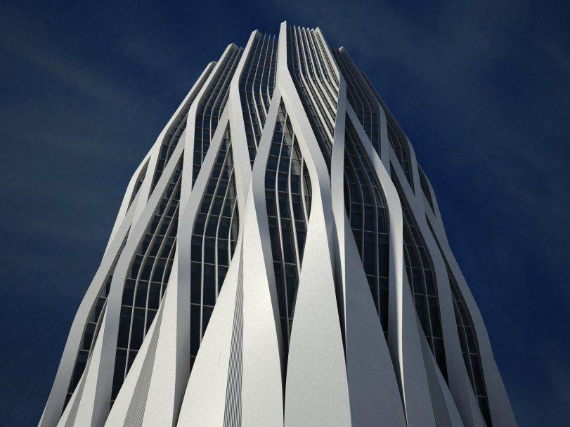 Zaha Hadid's Central Bank of Iraq: A Landmark Tower of Baghdad ...