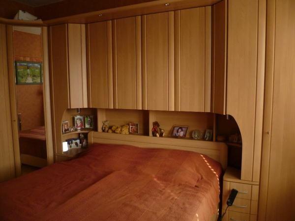 Billig schlafzimmer mit überbau | Deutsche Deko | Pinterest ...