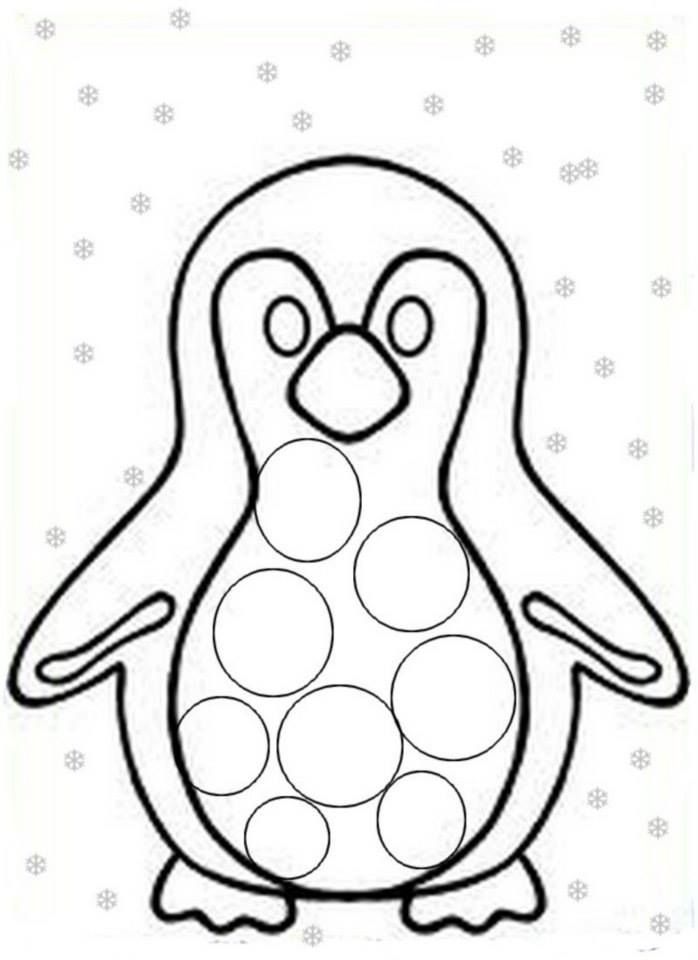 aa do a dot penguins and polar bears color games coloring sheets
