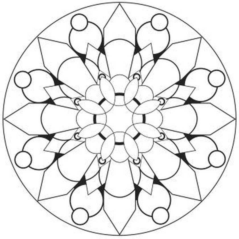 Mandalas Para Pintar Imprimir Y Colorear A Traves De Las Diferentes Combinaciones De Colores Los Mandalas Pr Mandalas Hindues Mandalas Para Colorear Dibujos