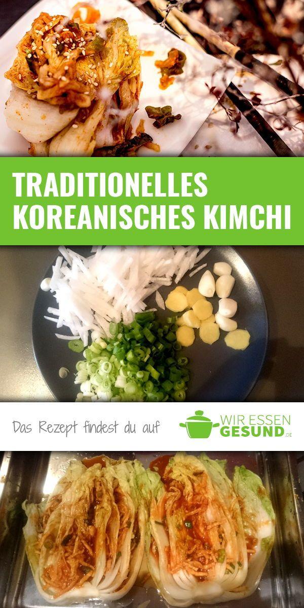 Traditionelles Kimchi Rezept (inkl. Video)   WirEssenGesund.de