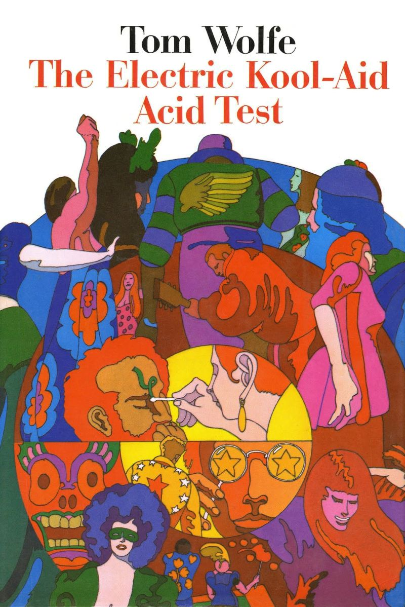 Image result for electric kool aid acid test art