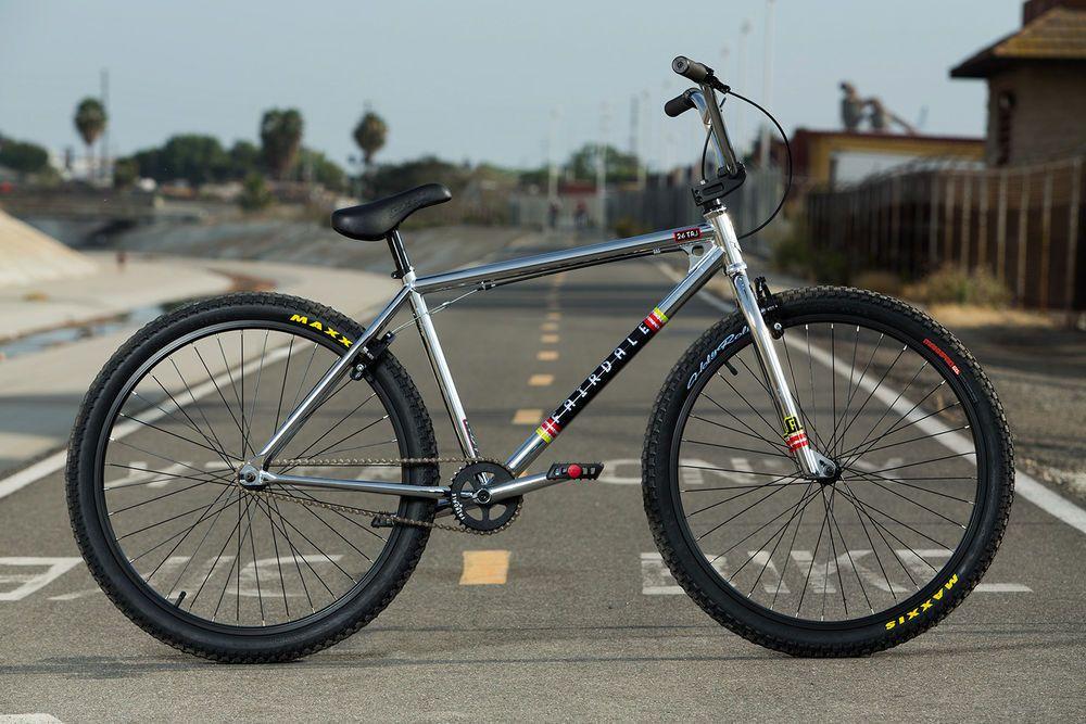 Fairdale Taj 26 In Bmx Bike All Chrome Cruiser Free Shipping Just Released Bicicletas Bmx Bici Fixie Bici Fixed