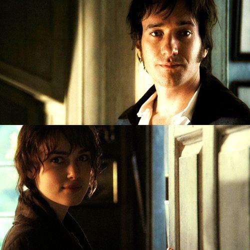 Darcy & Elizabeth - my favorite Pride and Prejudice movie