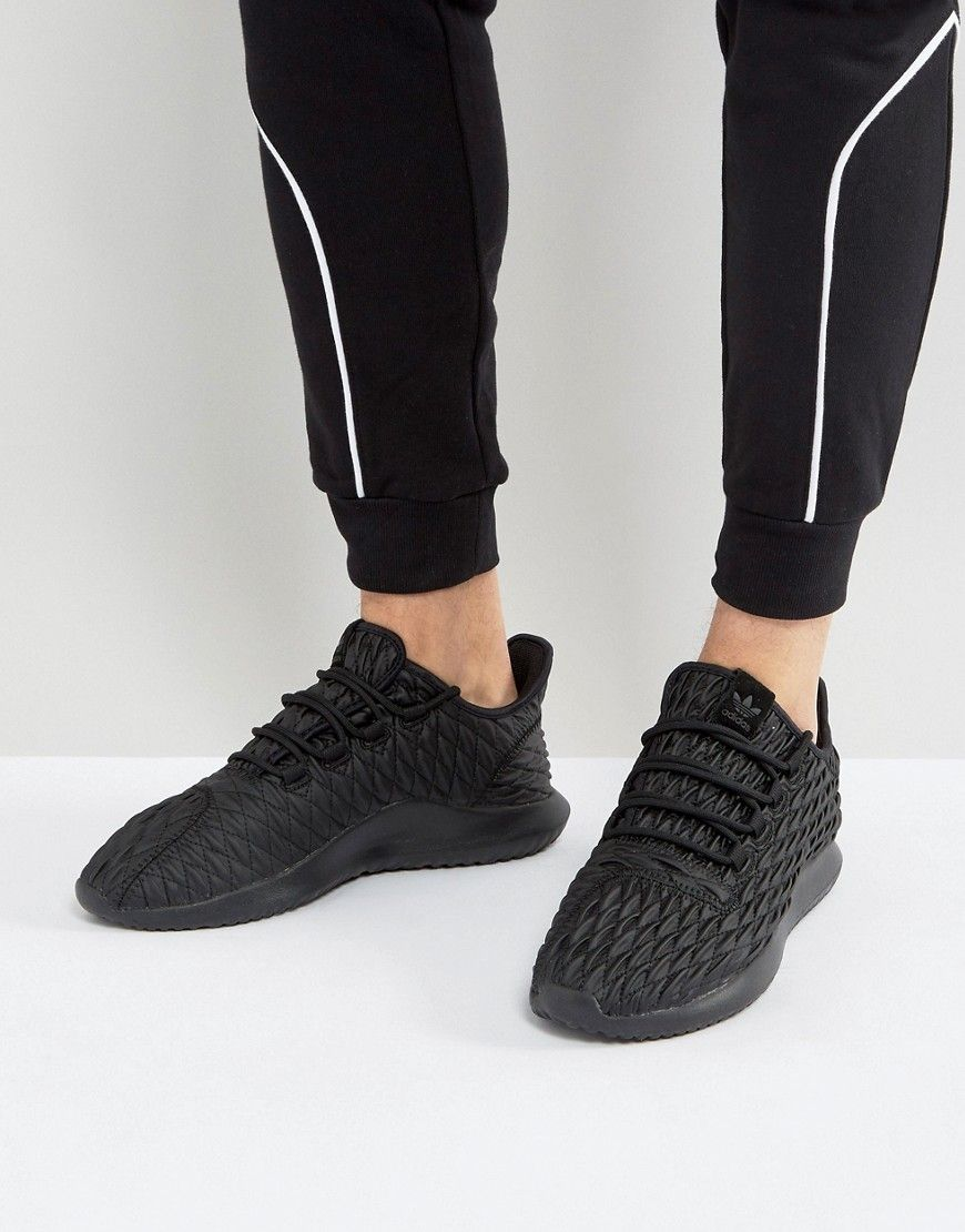 reputable site 20e72 c0a20 ADIDAS ORIGINALS TUBULAR SHADOW SNEAKERS IN BLACK BB8819 - BLACK.   adidasoriginals  shoes