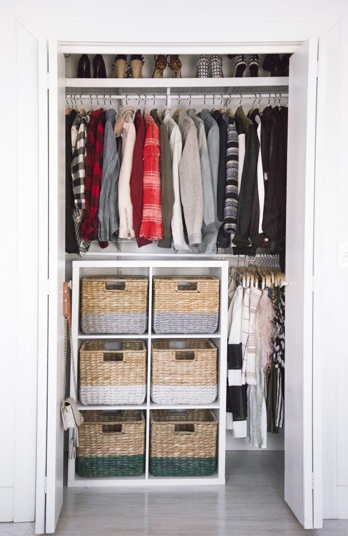 DIY ORGANIZATION   Color-Coded Closet Makeover - I SPY DIY -   16 diy Organizador dormitorio ideas