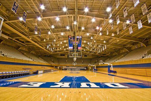 Panoramio Photo Of Cameron Indoor Stadium Duke University Basketball Indoor Basketball Court Duke Blue Devils
