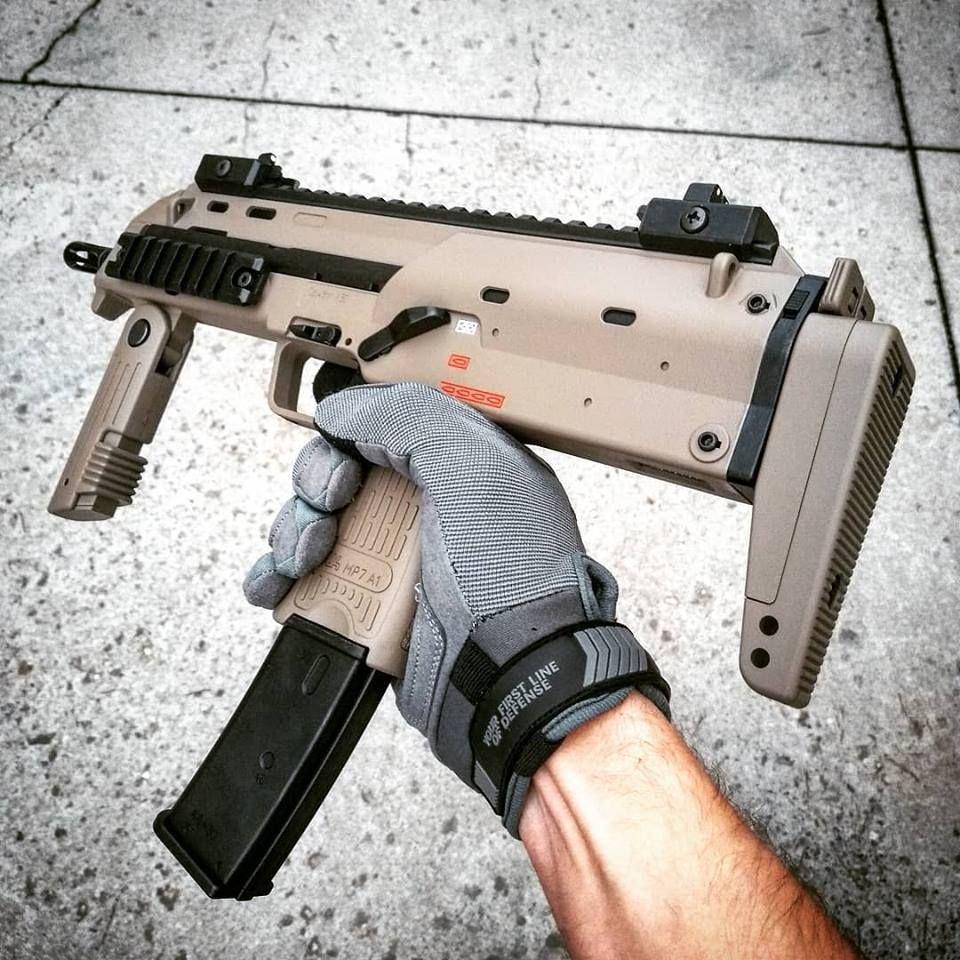 Airsoft replica of Tokyo Marui MP7A1 Submachine Gun Replica