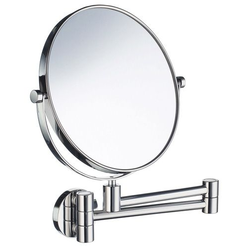 Wall Mounted Shaving Mirror smedbo outline wall mounted shaving/make-up mirror | bath