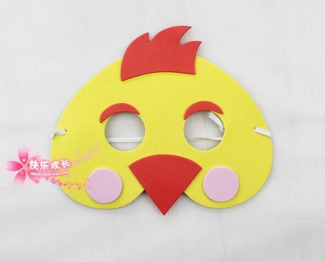 chicken mask printable - Google Search PreSchool Crafts Chicken