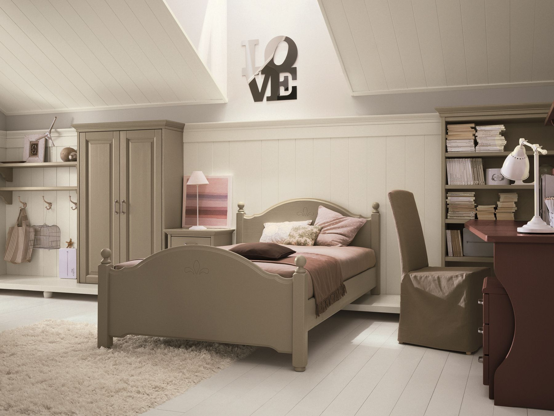 Camerette effedue ~ Camerette classiche child room composition