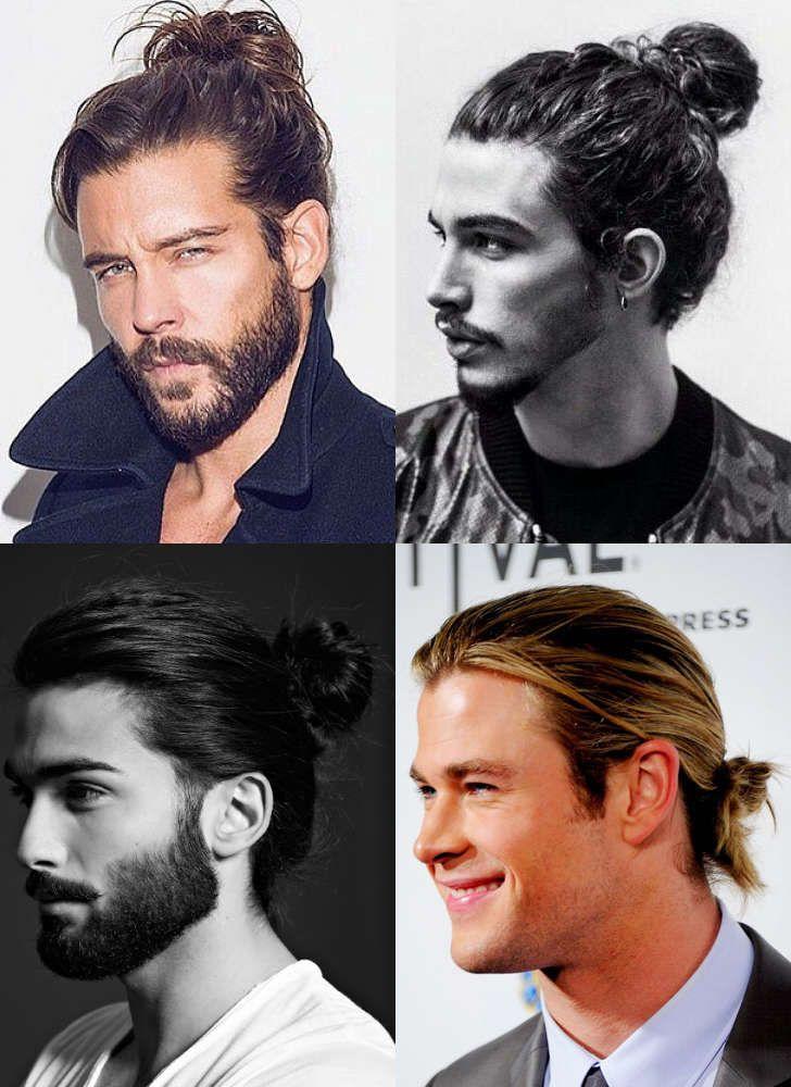 7 types of man bun hairstyles gallery how to man bun