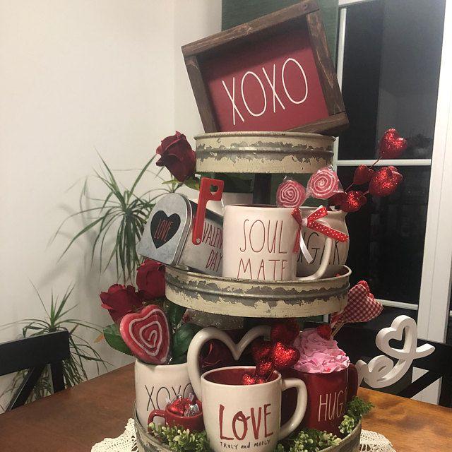 3-Valentine Rae Dunn Inspired Bundle Sign Valentin