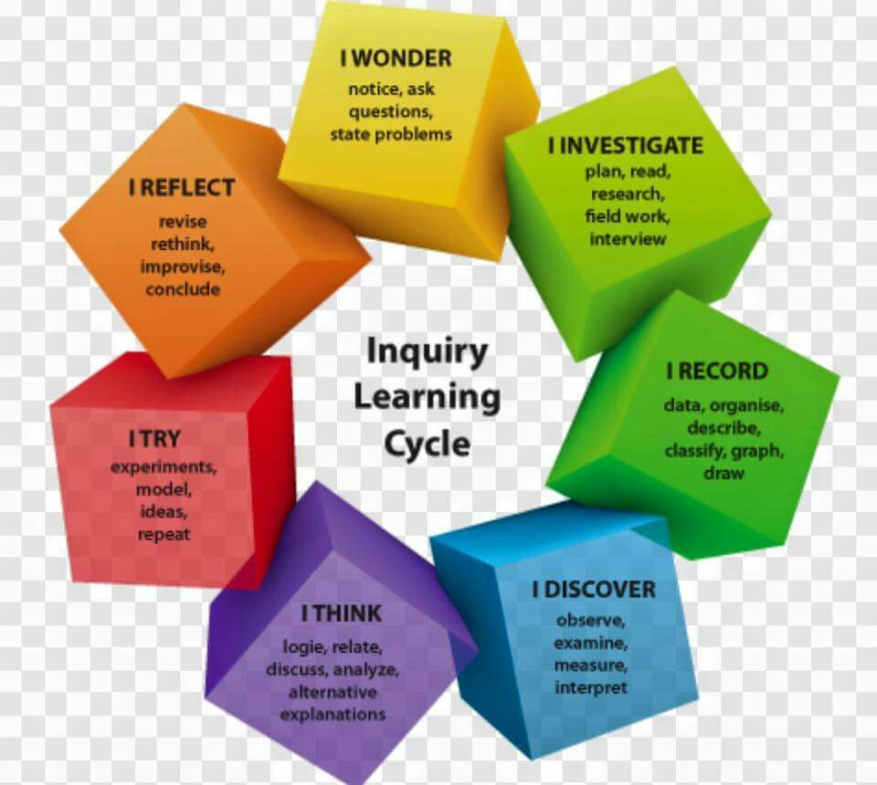 Inquiry Learning Cycle Education - Behaviours Decor