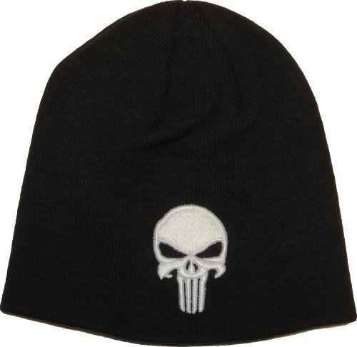 239c4123d85 Marvel Comics The Punisher Skull Knit Beanie Hat Price   £16.95 http