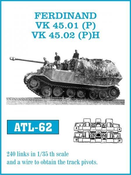 Tracks for Ferdinand / VK 45 01(P) VK 45 02(P)H – Friulmodel