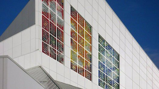 Stained Glass That Doubles As A Solar Power Source Solar Power Source Solar Shades Stained Glass