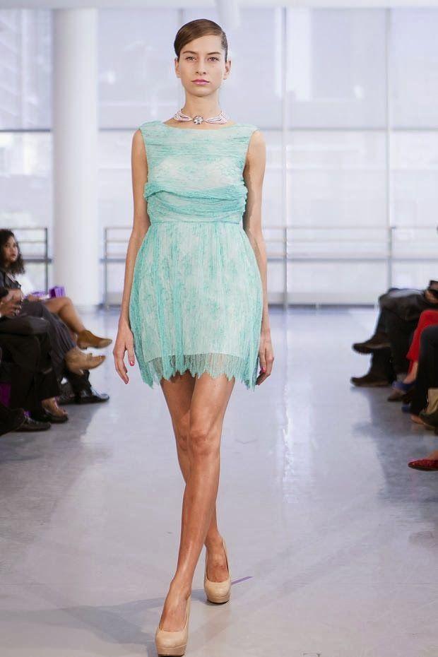 Cool Chic Style Fashion: Yuna Yang spring / Summer 2014 #fashionweek
