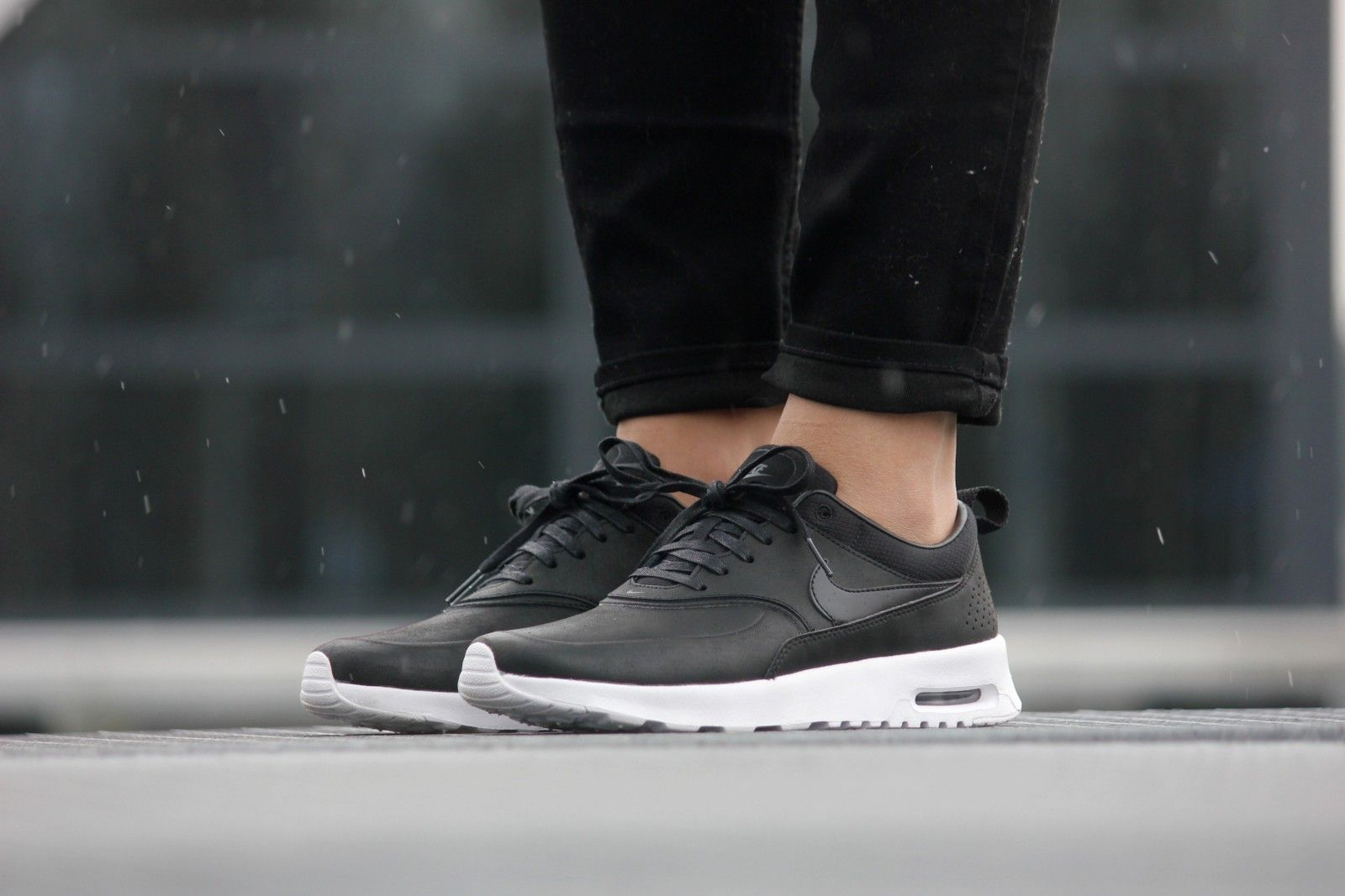 Nike WMNS Air Max Thea PRM Black Anthracite 616723 007