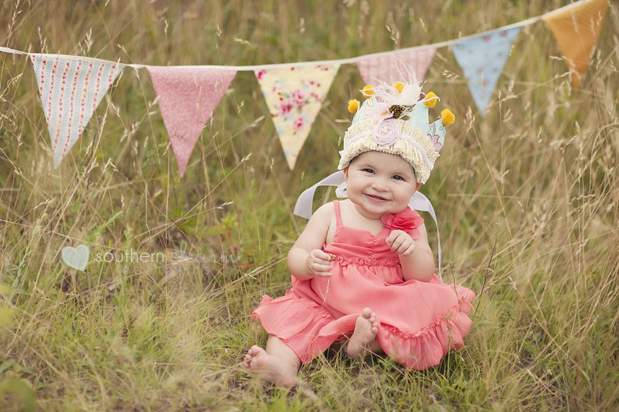 Maggie kate at 9 months knoxville tn baby photographer babies southern charm