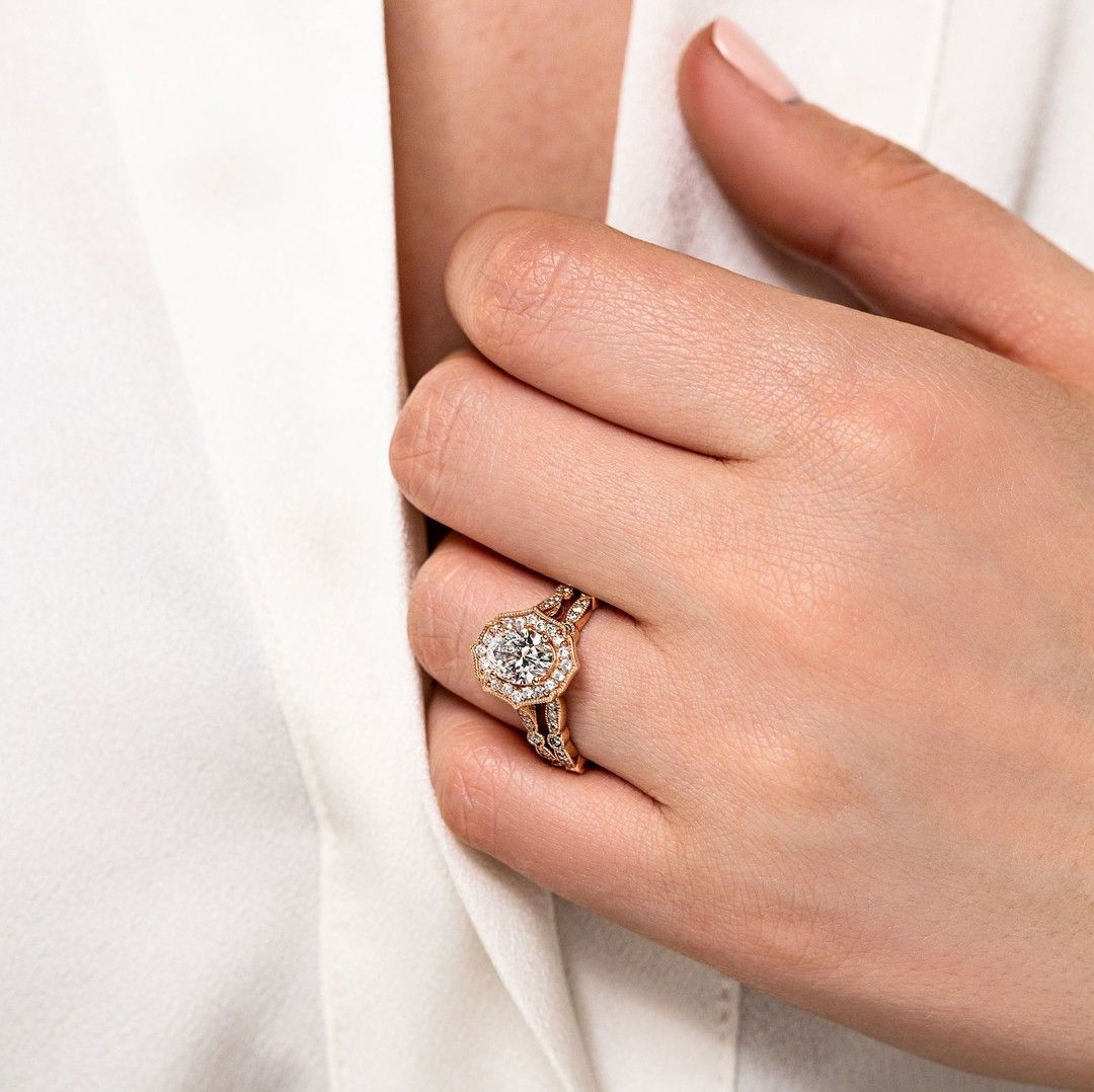 Pin On Rose Gold Rings