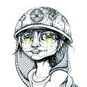 Big bright eyes Art Print by Jonny Crennan | Society6