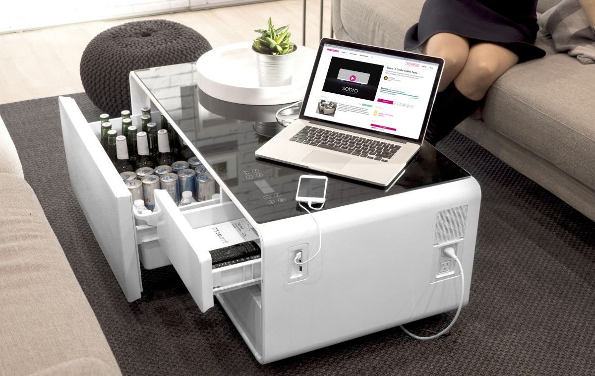 Sobro Smart Coffee Table Techtalk Blogs Cool Coffee Tables