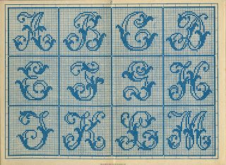 antique French cross stitch patterns free