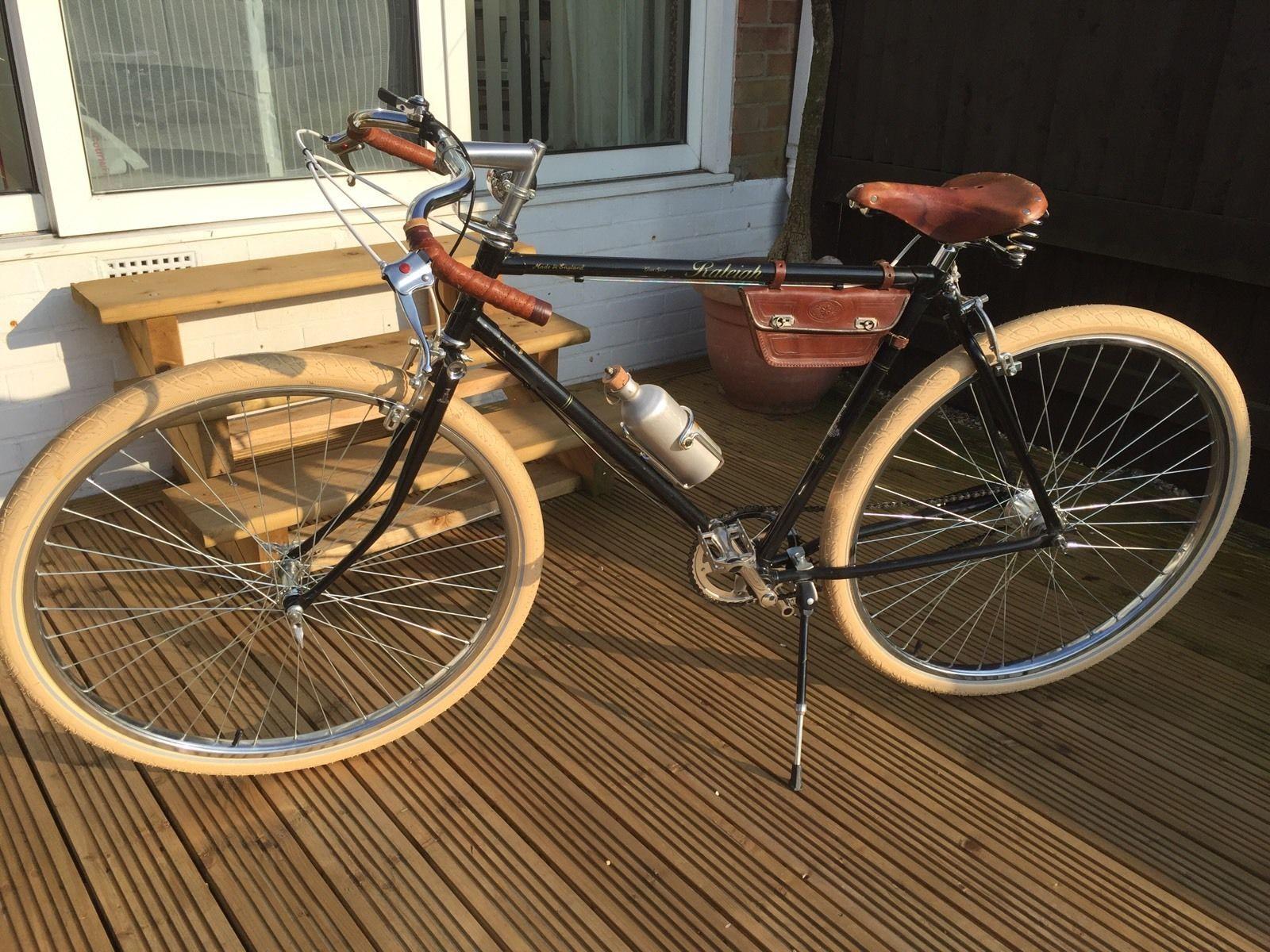 Path Racer Bicycle 5 Speed Eroica Goodwood Tweed Bicycle Vintage Bicycles Racer